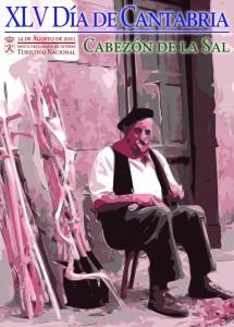 Cartel Día de Cantabria 2011