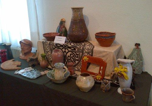 Algunos trabajos de cerámica