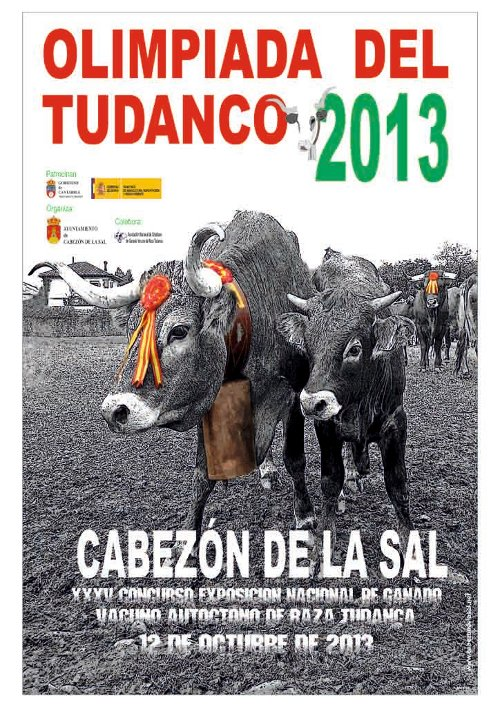 Cartel feria del Tudanco 2013