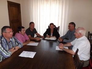 Reunión con alcaldes pedáneos