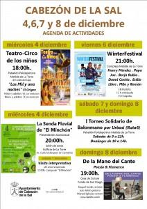 cartel programa 4 al 8 de diciembre 2013