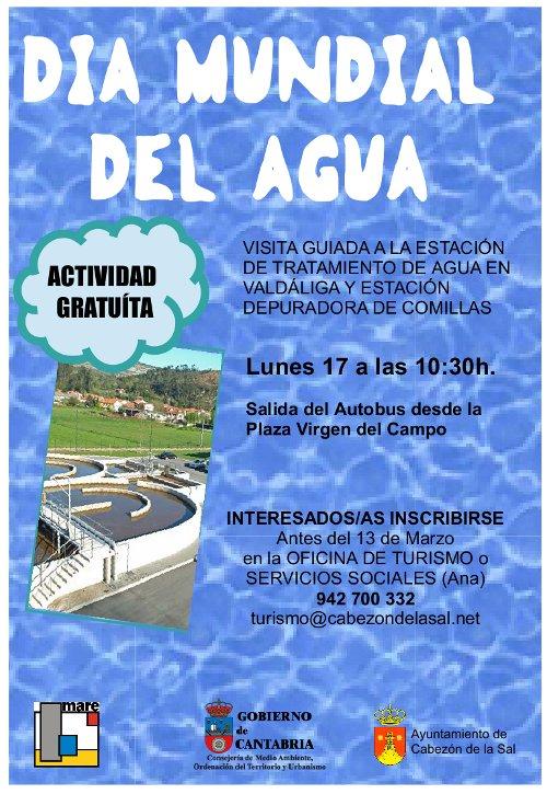 Cartel Dia del Agua