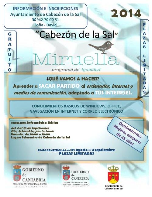 Miruella Cabezón de la Sal