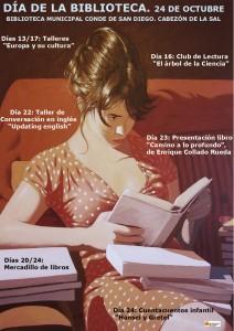 CARTEL DIA DE LAS BIBLIOTECAS