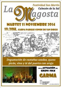 cartel MAGOSTA 2014 2