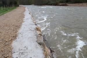 Escolleras Río Saja en el Minchón