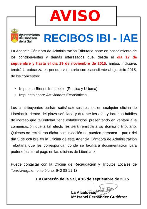 Bando IBI e IAE
