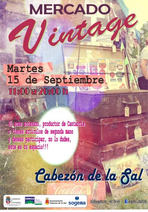 Cartel Mercado Vintage