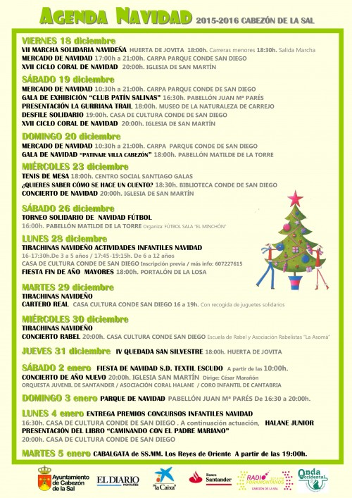 Agenda Navidad