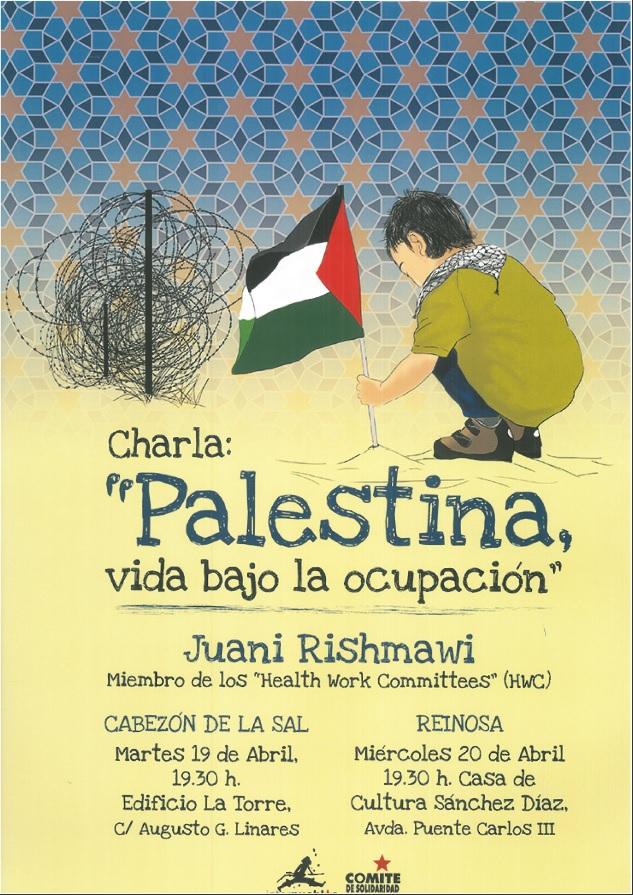 """Charla: """"Palestina, vida bajo la ocupación"""""""