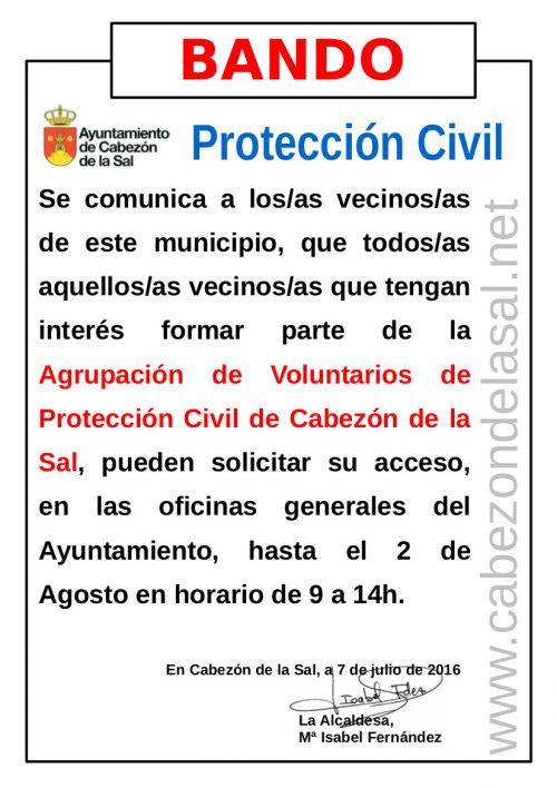 Aviso de Protección Civil