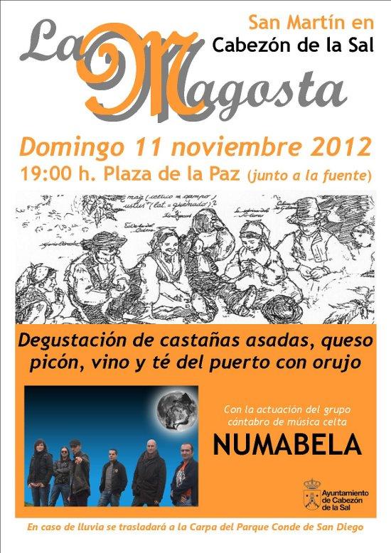 Cartel Magosta 2012