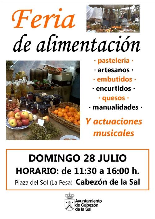Cartel de la Feria Alimentación