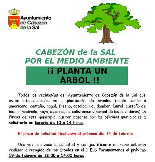 Campaña Planta un Arbol