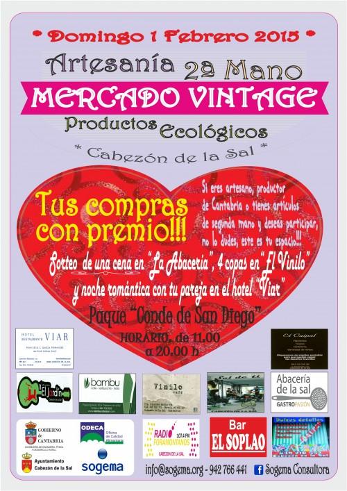 Mercado Vintage y San Valentín
