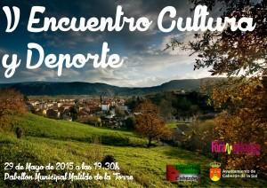 Cartel Gala Deporte y Cultura 2015